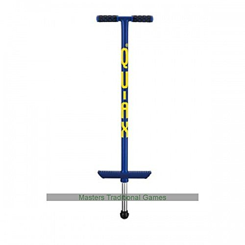 V200 Qu-Ax Pogo Stick - For Children (Blue)