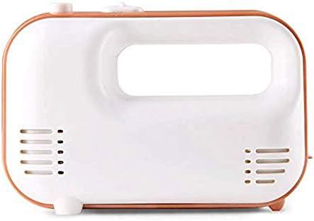 DTQDX Batteur à Oeufs - Batteur à Main électrique Batteur à Main électrique de Cuisine avec Accessoires en Acier Inoxydable et étui de Rangement
