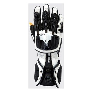 Knox Handroid Gloves White/Black XL