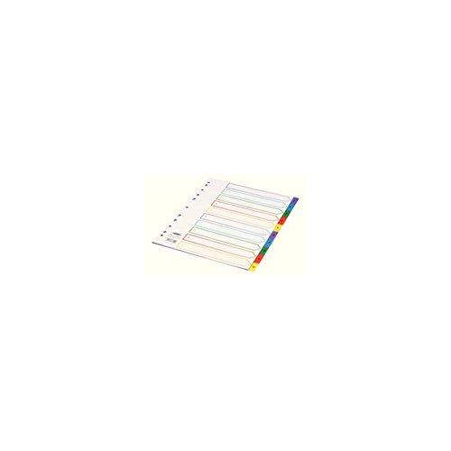 CONCORD DIVIDER POLY E/WIDE A4 1-10 ASST -
