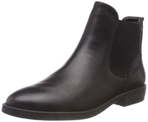 Black 21 Chelsea 1 25306 Black Tamaris Boots Women's q68HyBRHXw