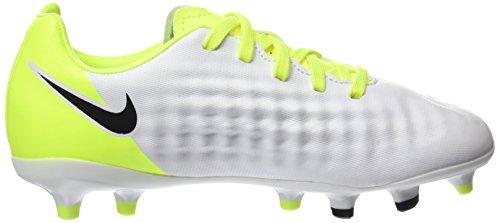 Opus Enfant Entrainement pure Blanc de White Gris NIKE Chaussures Platinum vert Football Mixte II Volt Magista Black xwp145