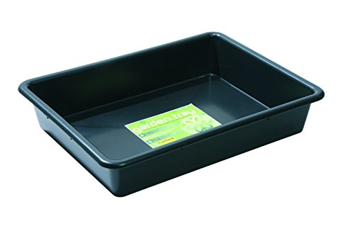 Tierra Garden GP100B Chief Tan Garden Tray, Black (Cement Mixing)