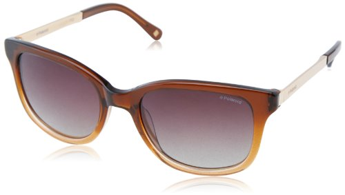 - Polaroid X8407S Polarized Wayfarer Sunglasses,Dark Brown & Brown Gradiant Polarized,52 mm