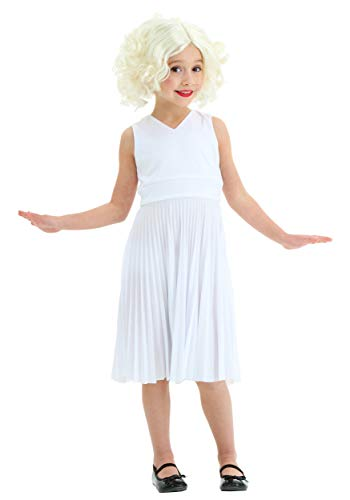 Toddler Hollywood Star Dress Costume 4T White