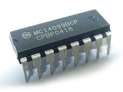 MC14099B 8 BIT ADDRESSABLE LATCH IC NOS 10 PIECES