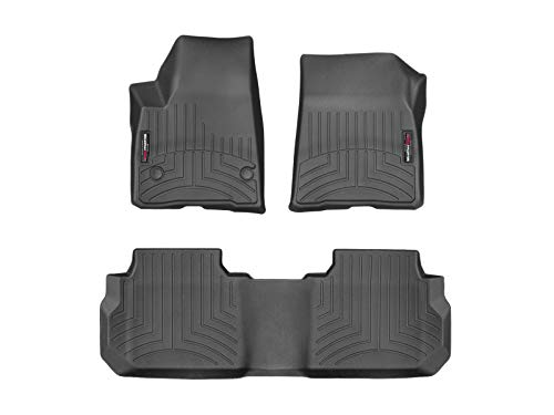 2018 Blazer - WeatherTech Custom Fit FloorLiner for Acadia/Blazer - 1st & 2nd Row (Black)