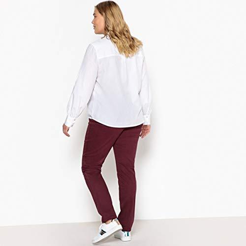 Donna CASTALUNA Prugna Pantaloni Tasche 5 Slim Swqz4nqf