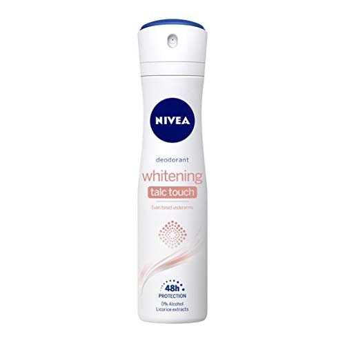 NIVEA Deodorant, Whitening Talc Touch, Women, 150ml