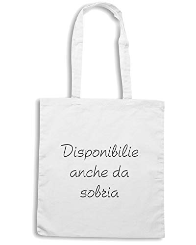 ANCHE Shirt DA Borsa SOBRIA DISPONIBILE Bianca TDM00058 Shopper Speed YPqdP
