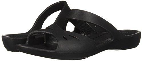 203991 Crocs Nero Sandali Donna 001 6dd8qwRf