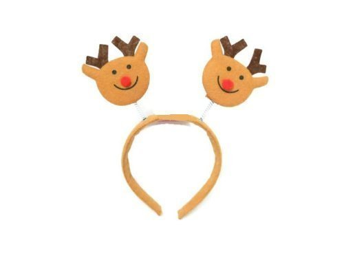 Christmas Movie Reindeer - Christmas House Red-Nosed Reindeer Christmas Headband 9 In. - 1/pkg.