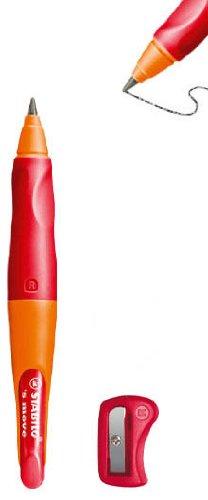 Orange//Red Right Handed Stabilo Smove Easy Ergo Pencil