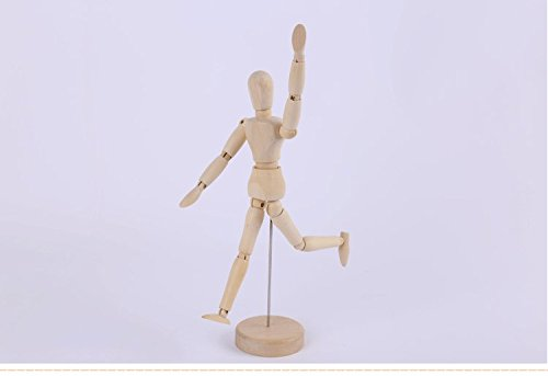 2 PCS Arts Wooden model Wooden man 's wooden joint model(8inch) WP-TT 4336946243