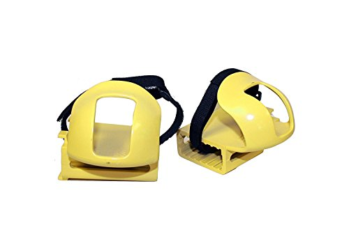 kettler-kettrike-bicycle-toe-clips-bike-pedal-straps-for-trikes-and-bikes-yellow