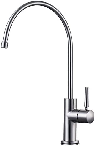Design House 523225 Oakmont Kitchen Faucet with Sprayer with Single Handle, Satin Nickel Finish