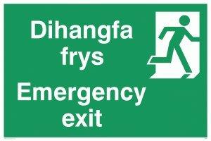 Sartenes Dihangfa/salida de emergencia derecha - diseño con ...