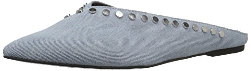 Dolce Vita Women's Ramsay Mule, Light Blue Denim, 9 Medium (Denim Mules)