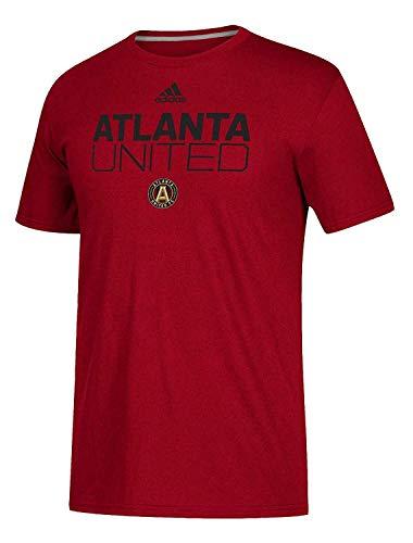 adidas Atlanta United FC Men's Alternate Locker Room T-Shirt (Victory Red, 4X-Large)