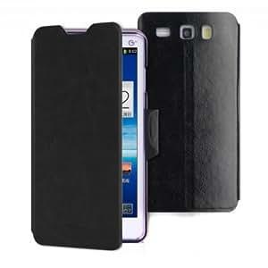 Mofi PC+PU Leather Kickstand Protective Case For Coolpad 8198 --- Color:Blue
