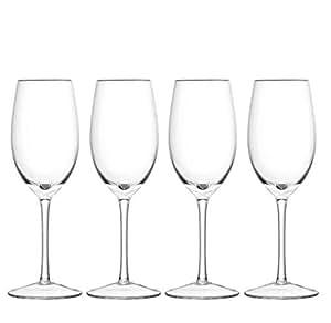 Handmade White wine glass, sets of 4 pcs