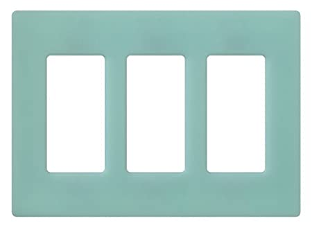 Lutron SC-3-SG Claro Three-gang Wallplate Sea Glass - Switch Plates - Amazon.com