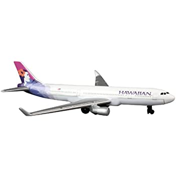 Amazon.com: Daron Hawaiian Airlines Single Plane: Toys & Games