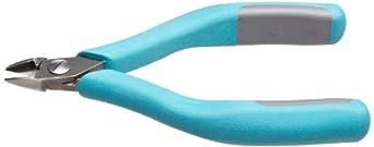 "Erem 2400 Magic Sense Side Cutter, Oval Head, Semi Flush Cut, 5"" Length, 0.453"" Jaw Length"