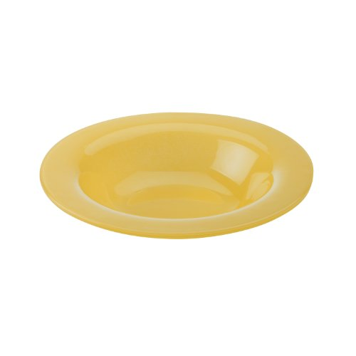 Maxwell and Williams Paint 8-Inch Rim Bowl, Amber