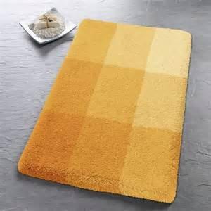 Kleine Wolke 5514568225 Square Badematte aus Polyacryl gelb 70 x 120 ...