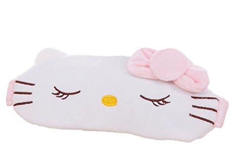 Hello Kitty Eye Mask - Sleeping Hello Kitty Cooling Eye Therapy Plush Sleep Mask