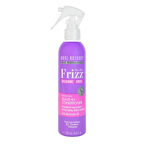- Marc Anthony Bye Bye Frizz Silicone Free Leave in Conditioner, 8.4 Ounces