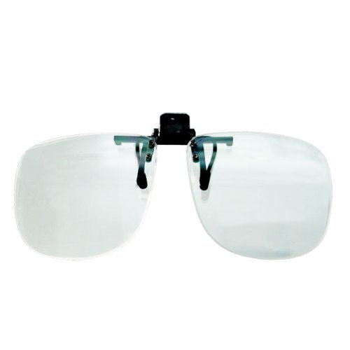 4.0 D Walters Full Frame Clip on Magnifier Glasses by Unknown