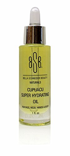 Bella Schneider Beauty Naturals Cupuacu Super Hydrating Oil - Nourish Skin, Nails, Hair Hydration, Oxidizing, Deep Cleaning, Non GMO, Promotes Skin Elasticity and Skin Strengthening for Soft Skin