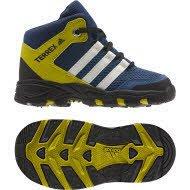 Adidas AX2Mid I–Chaussures montantes de treckingpara enfants, bleu–(azumis/blatiz/azubas), 17