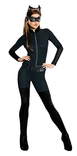 Plus Size Catwoman Costumes (Rubies Womens Batman Dark Knight Rises Catwoman Theme Party Halloween Costume, Small (6-8))