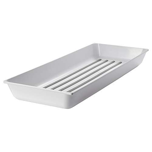 IKEA VARIERA - Spice rack, high-gloss white - 20x50 cm by Ikea