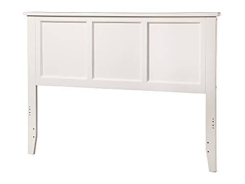 Atlantic Furniture Madison Headboard, Full, White