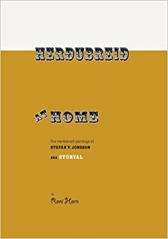 Book Roni Horn: Herdubreid at Home: The Herdubreid Paintings of Stefan V. Jonsson Aka Storval