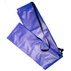 Deluxe 18oz Vinyl Color Guard Parade Indoor Display Flag Set Carrying Case 10