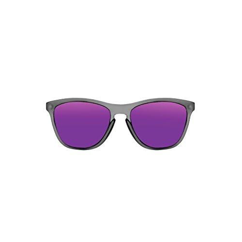b3e45f9cc5 De alta calidad KOALA BAY - Gafas de Sol Palm Beach Gris Transparente  Lentes Violeta