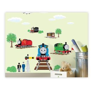 Thomas Train And Friends Loft 520 Kids Nursery Home Decor Vinyl