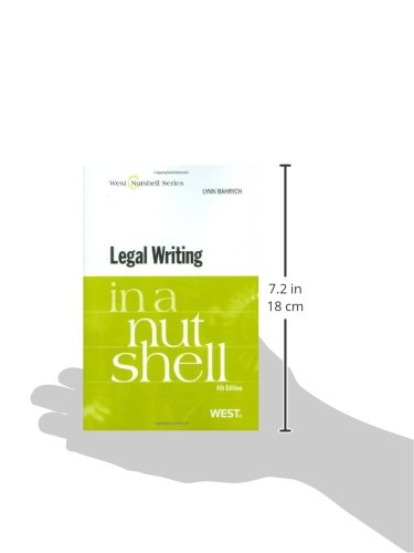 Legal Writing in a Nutshell, 4th (In a Nutshell (West Publishing)) (Nutshells) by West