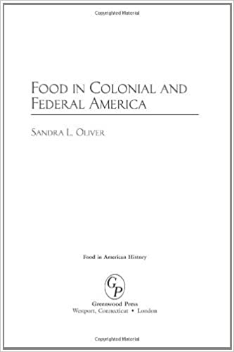 Amazon com: Food in Colonial and Federal America (Food in American