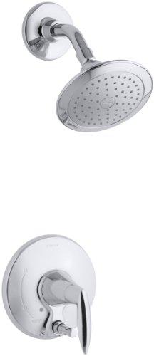 KOHLER K-T45108-4-CP Alteo Shower Trim with Push-Button Diverter, Polished Chrome