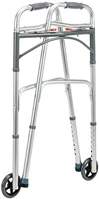 Drive Medical WA009 - Andador plegable con ruedas delanteras ...