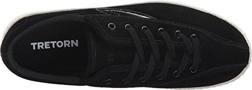 Tretorn Vrouwen Nylite2 Plus Mode Sneaker Zwart / Zwart