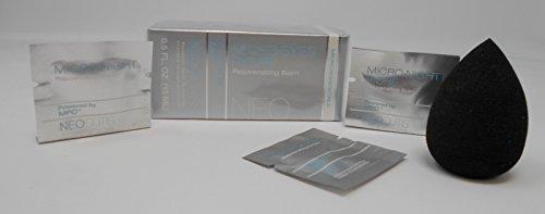 Neocutis Micro Eyes Riche Rejuvenating Balm, 0.5 FL. Oz. Plus Free Cosmetic Blender Sponge and 3 Mixed Samples by NEOCUTIS
