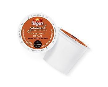 Folgers Hazelnut Cream Keurig K-Cup Portion Pack, 96 Count ()