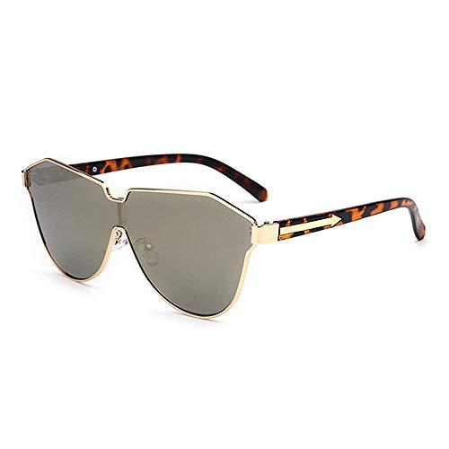de de Borde de Tonos Godbb Playa Moda con de de Pieza Unisex UV400 Estilo Lente Ojos de Metal de una de protección de conducción de C3 Ojos Gafas Sol Vacaciones Color de Proteccion de Gato Verano AZx7w